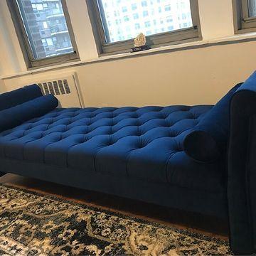 Eliza 82 5 Flared Arm Upholstered Sofa, Jennifer Taylor Eliza Upholstered Sofa Bed