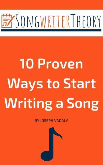 A Great First Step Into Song Writing Songwriter Theory Writing Songs Inspiration Writing Lyrics Songwriting