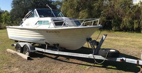 1976 Grady White Weekender Fishing Boats For Sale Center