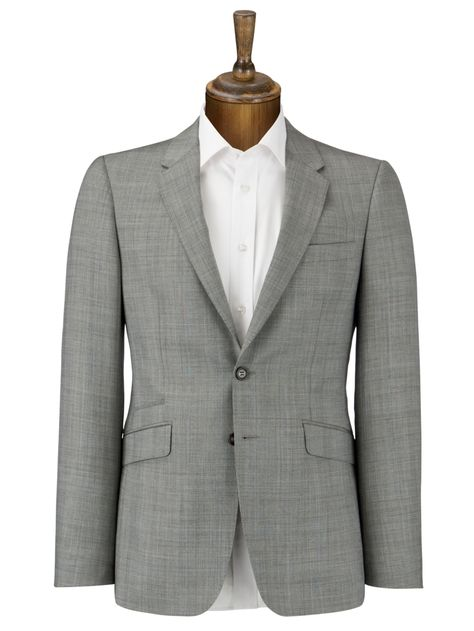 Super 120's Prince of Wales Check Suit Jacket