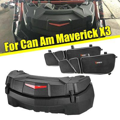 Ebay Advertisement Bid 23 Galtrunk Rear Storage Cargo Box Side Door Bags For Can Am Maverick X3 Can Am Side Door Mavericks