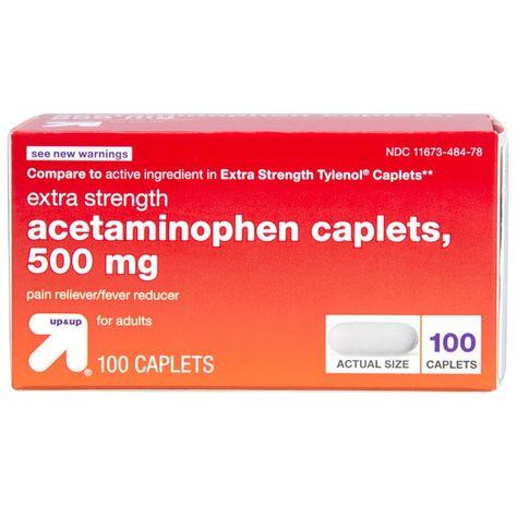 Acetaminophen Extra Strength Pain Reliever & Fever Reducer