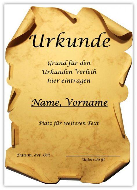 Urkunde Fur Word Urkunde Vorlage Urkunde Kostenlose Vorlagen