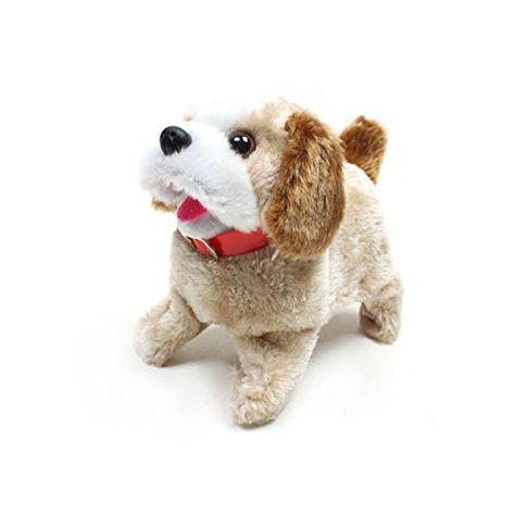 Bo Fantastic Flip Over Puppy Toy Runs Bark Turns Somersaults