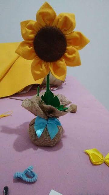 كيف تصنع زهرة عباد الشمس من القماش Floral Floral Rings Flowers