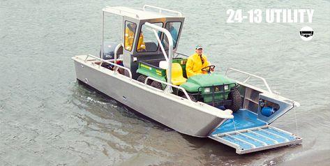 Munson Aluminum Boats Custom Welded Aluminum Boats Landing