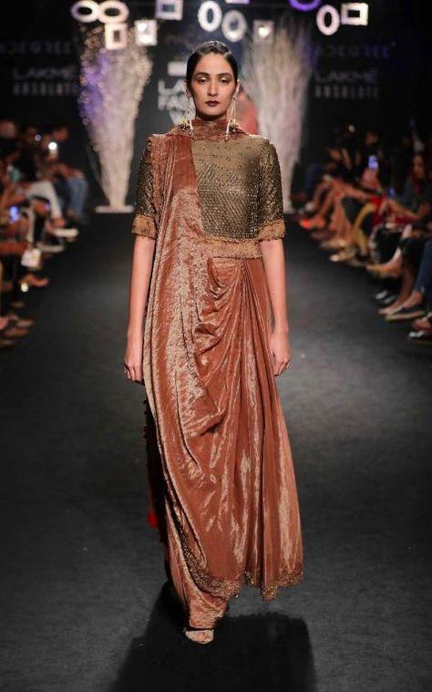 De Belle - Faabiiana - Hardika Gulati - Ruceru - Lakme Fashion Week AW 17 - 10