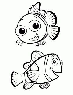 Balik Boyama Sayfasi Fish Coloring Page Pagina Para Colorear De