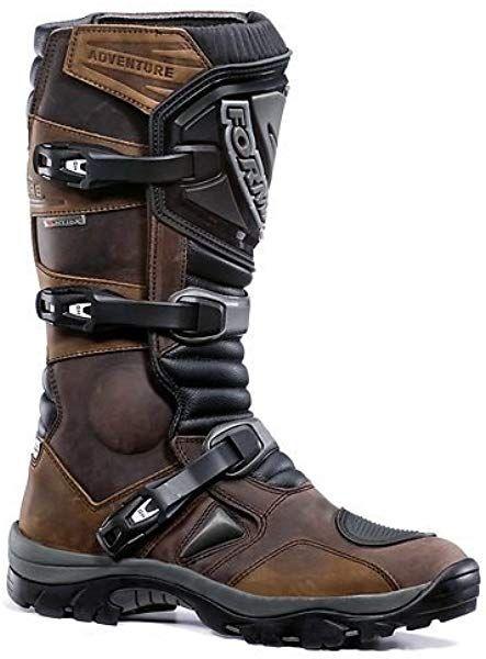New Forma Mud Adventure Trail Green Laning Boots Enduro Brown Uk