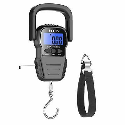 Sponsored Heeta Fish Scale With Backlit Lcd Display Digital Portable Hanging Scale With M Hanging Scale Fish Scales Body Weight Scale