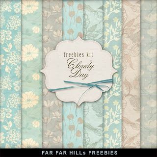 GRANNY ENCHANTED'S FREE DIGITAL SCRAPBOOK KITS: Wednesday's Guest Freebies- Far Far Hill