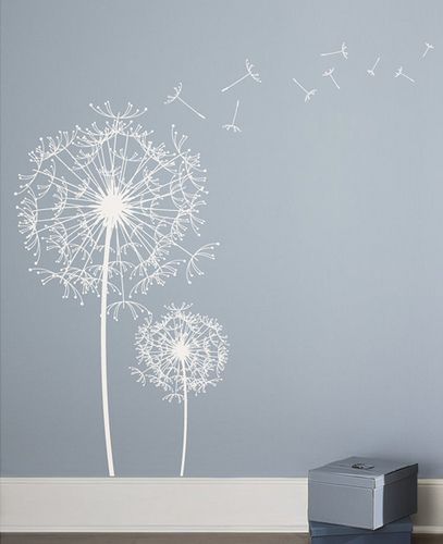 Dandelion Wall Decal Sticker | Wall Decal Sticker, Wall Decals And  Dandelions