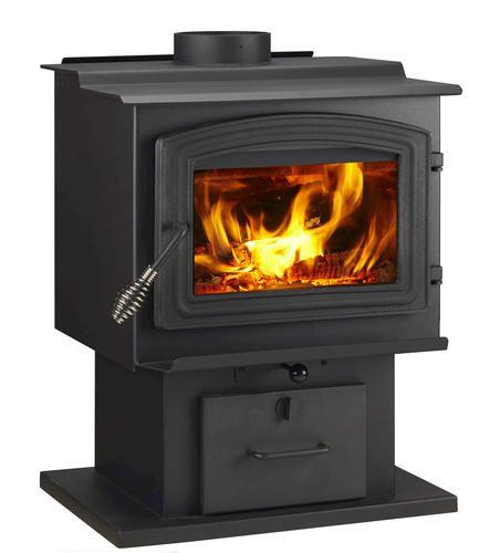 Woodpro Medium Wood Burning Stove 1 000 Sq Ft At Menards Small Wood Stove Wood Stove Wood Burning Fireplace Inserts