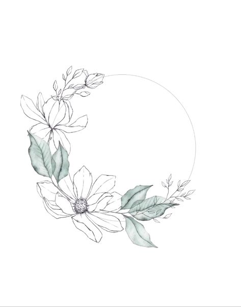 Once I have digitized all of my watercolors & illustrations it's time to play around in Photoshop and create this wreath.   Music by audionautix.com