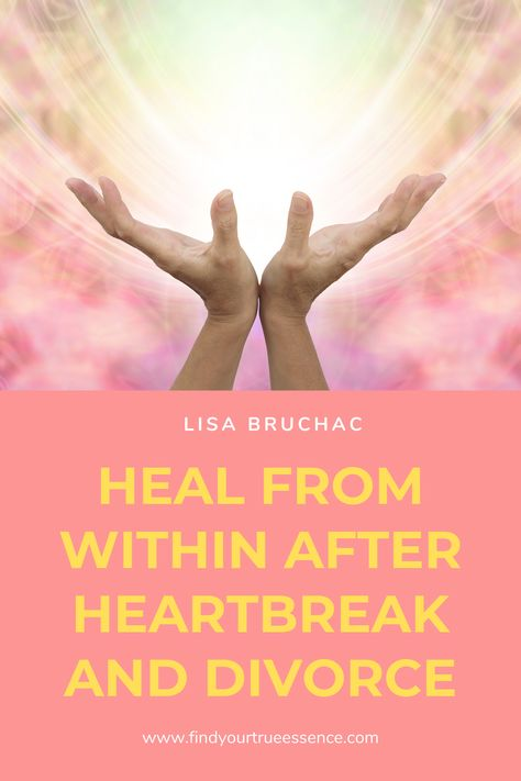 Going within after you experience heartbreak is the key to resurrecting your life from the ground up.  You can heal from the pain and use it as a catalyst to live your best life yet.  Check out Heartbreak Recovery Kit today!  #heartbreakrecovery #divorce #healingfromdivorce