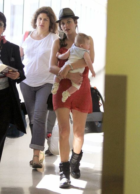 Marion Cotillard With Daughter Louise Canet Born March 10