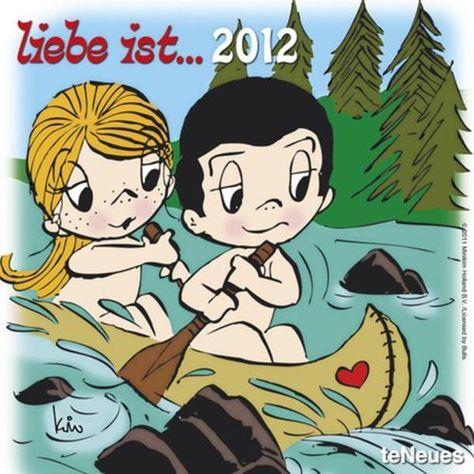 liebe ist 2012 (9783832748722): Kim Casali: Books