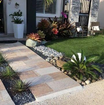 Ideas De 5 Plantas Para Jardines De Entrada De Casa Paisajismo