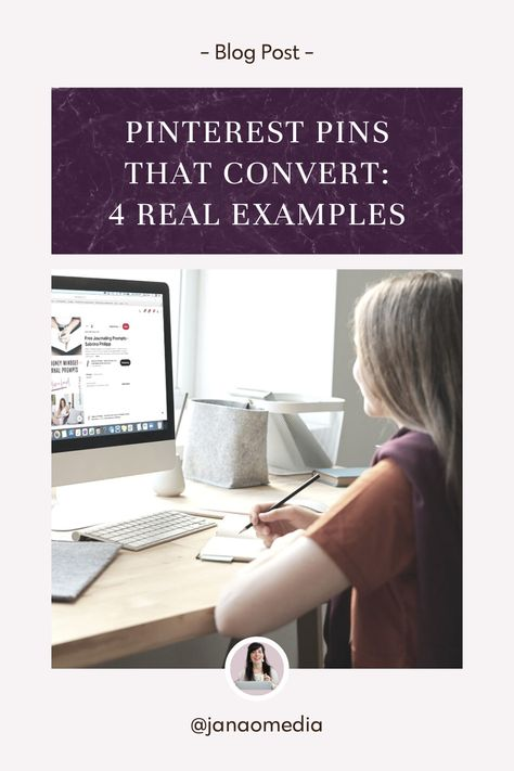 Pinterest Pins that Really Converted: 4 Real Examples from Online Coaches