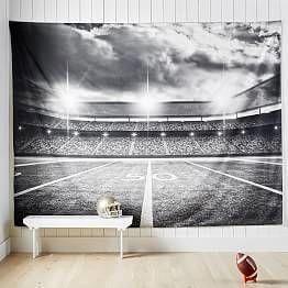 Varsity Football Wall Mural In 2020 Boys Football Room Football