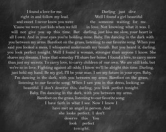 Ed Sheeran - Perfect Lyrics | ♪♬ Music & Lyrics