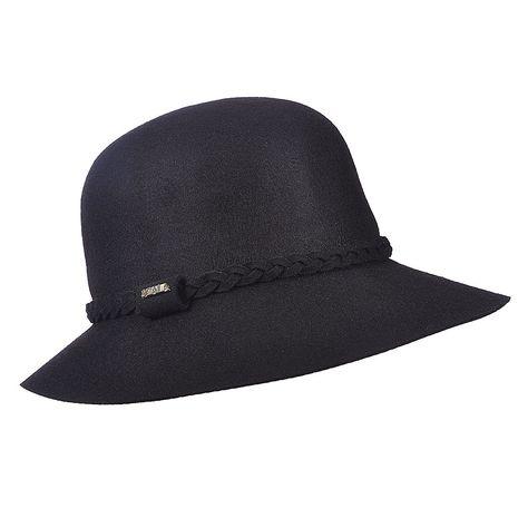 31b9bf7488f Scala LF187 Wool Felt Lamp Cloche Hat w  Adjustable Draw String