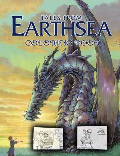 Tales From Earthsea Coloring Book A K A Gedo Senki Tales From Earthsea Books Coloring Books