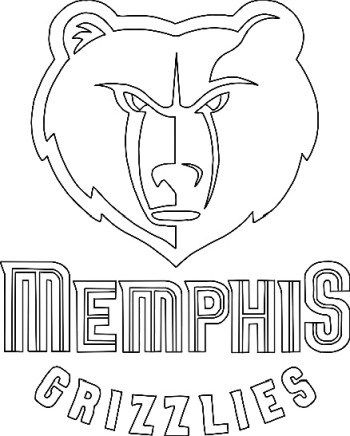 Nba Teams Logo Coloring Pages 62 Free Printable Coloring Sheets 2020 In 2020 Memphis Grizzlies Coloring Pages Free Printable Coloring Sheets
