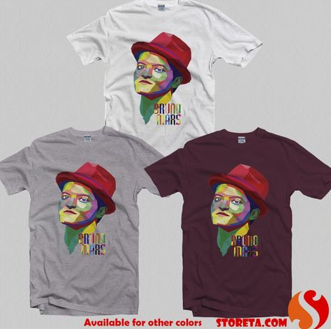 nice Bruno Mars WPAP, The Moonshine Jungle Tour for Gildan T Shirt, Men T Shirt, Women T Shirt, Unisex T Shirt