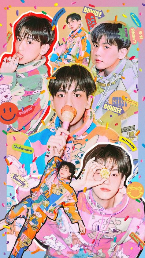 백현 Baekhyun The mini album [Delight]🍬 Kpop Exo, Chanyeol, Kyungsoo, Shinee, Taemin, Wallpapers Kpop, Cute Wallpapers, Nct, Magazine Cosmopolitan