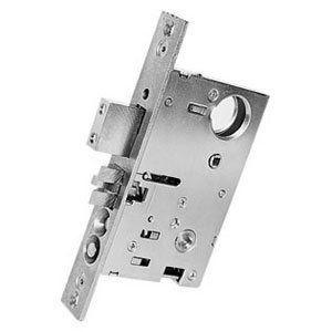 Baldwin 6812 Rrls Mortise Lock Polished Brass Polished Nickel