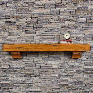 Breckenridge Fireplace Mantel Shelf Wood Fireplace Mantel