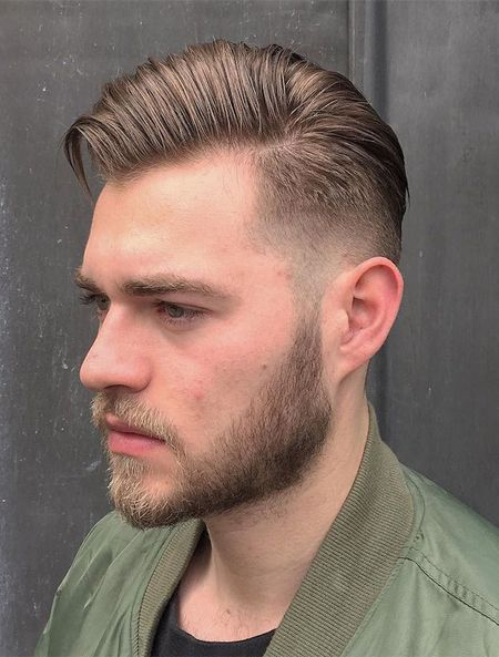 Men S Hairstyle For Thin Hair 2018 Cool Hairstyles For Men Mens Hairstyles Mens Haircuts Fade
