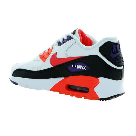 Basket mode AIR MAX 90 LEATHER (GS) | Basket mode, Chaussure