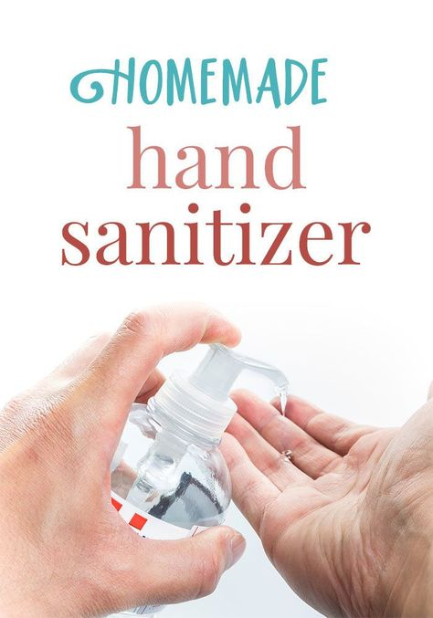 Homemade Hand Sanitizer Essential Oils Hand Sanitizer