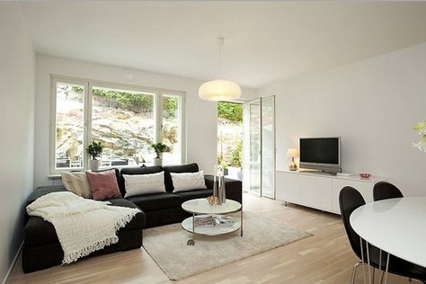 Design Of Large Terrace And Decorating In Small Apartment Living Room Windows Living Room Seating Large Living Room
