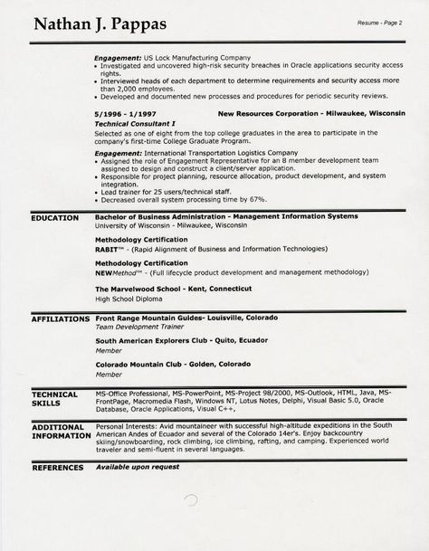 resume headings free sample resume headings headings for resumes