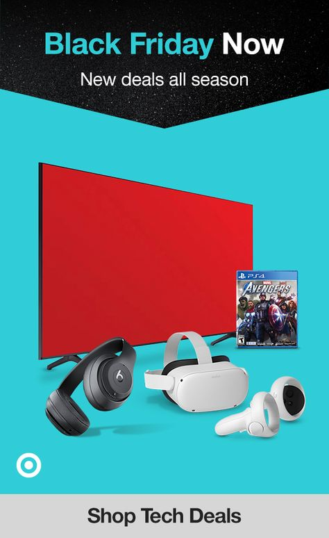 It's Black Friday all season long. Find top tech deals, electronic gifts  creative gift ideas to give your family  friends a Christmas surprise they'll love.