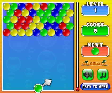 Play New Bubbles Shooter Game Online Free at puzzletopgames.com. this is an other bubble shooter game and have fun. Shoot bubbles at them, making groups of three or more of the same color. Work quickly. Good Luck