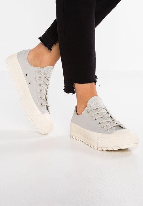 041e53f544ed Converse CHUCK TAYLOR ALL STAR LIFT RIPPLE - Sneakers - pale grey natural -  Zalando.se