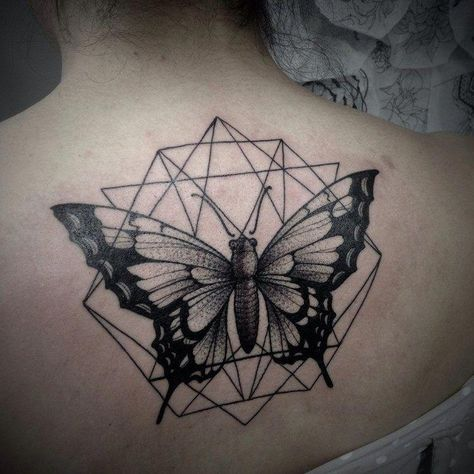 List Of Pinterest Papillon Tatouage Geometrique Pictures Pinterest