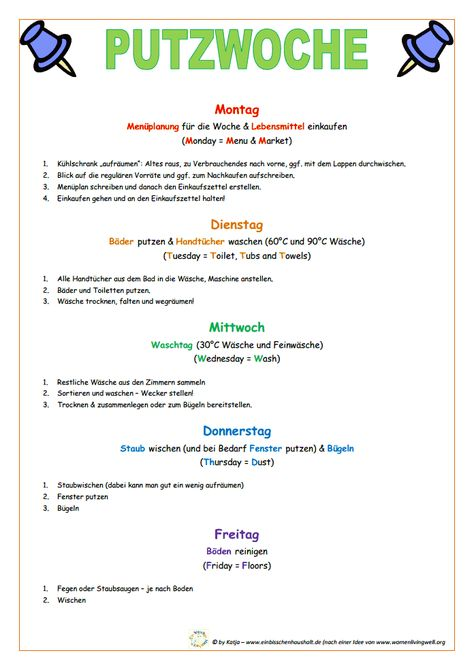 Putzplan-Putzwoche.pdf Das erscheint mir easy, ich hatte irgendwie einen Plan, aber er funktionierte nicht...   Mag ich   Pinterest   Putzplan, Funktioniert ni…