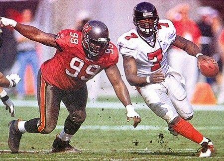 Warren Sapp Buccaneers Michael Vick Falcons Sports Figures Michael Vick Football Helmets