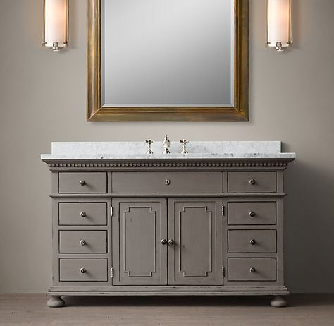 St James Extra Wide Single Vanity Sink Bathroom Inspirations