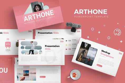 Dirty - PowerPoint Template  A creative minimalist