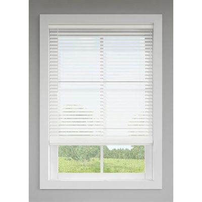 Levolor Blinds Shade 20435 Trim Go 2 In White Faux Wood Blinds