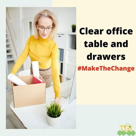 We all have been delaying it for too long. Haven't we?  So let's get down to it. No procrastinating. #MakeTheChange #stopprocrastination #cleanyouroffice #cleaningmotivation #cleaning