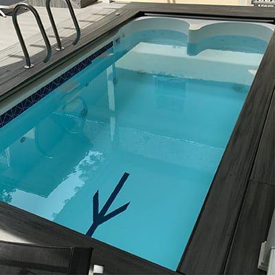Swimex Triton Residential Swim Spa And Fitness Pool Indoor Pool Design Swim Spa Exercise Pool