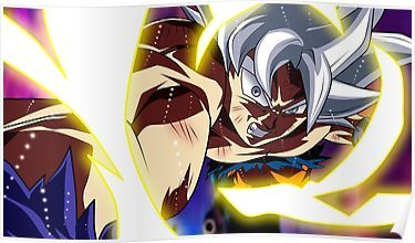 Goku Mastered Ultra Instinct Poster By D34thdesing In 2021 Dragon Ball Super Wallpapers Dragon Ball Wallpapers Anime Wallpaper