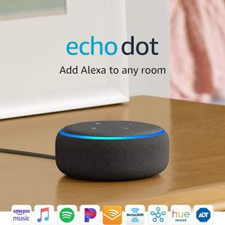 Aft Market Echo Dot 3rd Gen Smart Speaker With Alexa Ch In 2020 Echo Dot Smart Speaker Amazon Alexa Devices